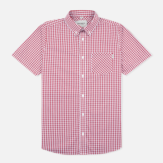 Carhartt WIP S/S Men's shirt Alabama Kenneth Check