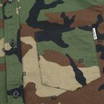 Мужская рубашка Carhartt WIP S/S Camo 313 Green фото- 2