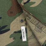 Мужская рубашка Carhartt WIP S/S Camo 313 Green фото- 3