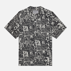 Мужская рубашка Carhartt WIP S/S Collage 3.8 Oz Black/White