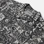 Мужская рубашка Carhartt WIP S/S Collage 3.8 Oz Black/White фото - 1