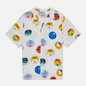 Мужская рубашка Carhartt WIP S/S Record 3.7 Oz White фото - 0