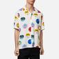 Мужская рубашка Carhartt WIP S/S Record 3.7 Oz White фото - 2
