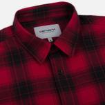 Мужская рубашка Carhartt WIP Willis Chili фото- 1