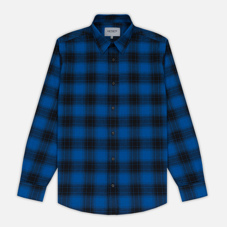 Мужская рубашка Carhartt WIP Willis Yale Blue