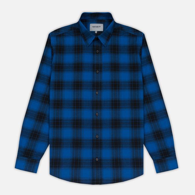 Мужская рубашка Carhartt WIP Willis Yale Blue