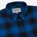 Мужская рубашка Carhartt WIP Willis Yale Blue фото- 1