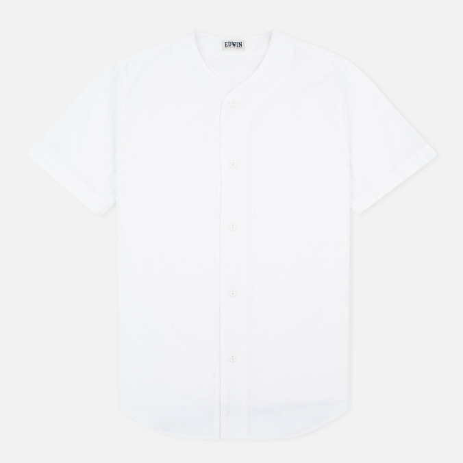 Мужская рубашка Edwin Baseball SS White