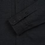 Мужская рубашка Edwin C.P.O. French Flanel Wool Blended Dark Charcoal фото- 3
