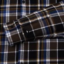 Мужская рубашка Edwin Don Java Brown Garment Wash фото- 3