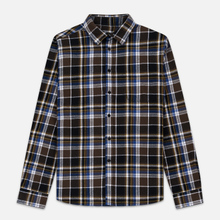 Мужская рубашка Edwin Don Java Brown Garment Wash фото- 0