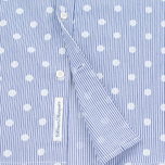 Мужская рубашка Edwin French Poplin Dots Printed Navy фото- 4