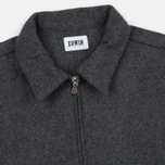 Мужская рубашка Edwin Industry Zip Italian Virgin Wool Felt Grey Marl фото- 1