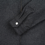 Мужская рубашка Edwin Industry Zip Italian Virgin Wool Felt Grey Marl фото- 2