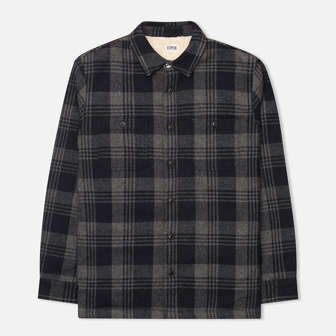 Мужская рубашка Edwin Labour Grey