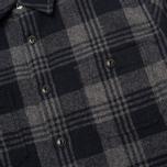 Мужская рубашка Edwin Labour Grey фото- 3