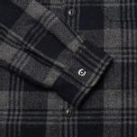Мужская рубашка Edwin Labour Grey фото- 4