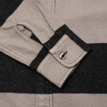 Мужская рубашка Edwin Labour Grey/Black Stripes Heavy Stone Wash фото- 3