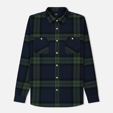 Мужская рубашка Edwin Labour Mid Twill Flannel Cotton Brushed Sycamore