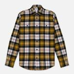 Мужская рубашка Edwin Labour Mustard Garment Washed фото- 0