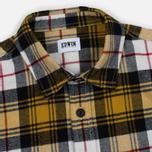 Мужская рубашка Edwin Labour Mustard Garment Washed фото- 1