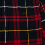 Мужская рубашка Edwin Labour Red/Black Garment Washed фото- 2