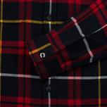 Мужская рубашка Edwin Labour Red/Black Garment Washed фото- 3