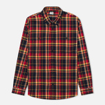 Мужская рубашка Edwin Labour Red Check Garment Washed фото- 0