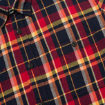 Мужская рубашка Edwin Labour Red Check Garment Washed фото- 2