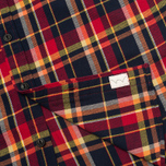 Мужская рубашка Edwin Labour Red Check Garment Washed фото- 4