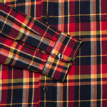 Мужская рубашка Edwin Labour Red Check Garment Washed фото- 3