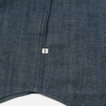 Мужская рубашка Edwin Memphis Canvas Denim Selvage Blue Rinsed фото- 4