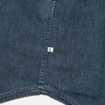 Мужская рубашка Edwin Memphis Denim Surf Blue Stone Washed фото- 4