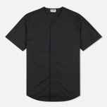 Мужская рубашка Edwin Military Poplin 3.5 Oz Black фото- 0