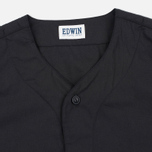 Мужская рубашка Edwin Military Poplin 3.5 Oz Black фото- 1