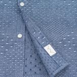 Мужская рубашка Edwin Nimes SS Poplin Blue Chambray фото- 2