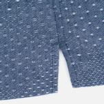 Мужская рубашка Edwin Nimes SS Poplin Blue Chambray фото- 3