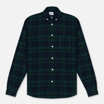 Мужская рубашка Edwin Standard Flanel Brushed Black Watch/Tartan Garment Washed фото- 0