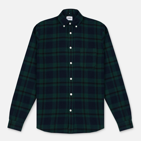 Мужская рубашка Edwin Standard Flanel Brushed Black Watch/Tartan Garment Washed
