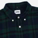 Мужская рубашка Edwin Standard Flanel Brushed Black Watch/Tartan Garment Washed фото- 1