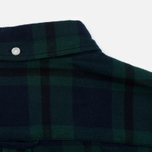 Мужская рубашка Edwin Standard Flanel Brushed Black Watch/Tartan Garment Washed фото- 4