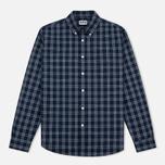 Мужская рубашка Edwin Standard Check Indigo фото- 0