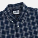 Мужская рубашка Edwin Standard Check Indigo фото- 1