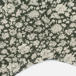 Мужская рубашка Edwin Standard Linen Flowers Printed Khaki фото- 5