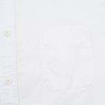 Мужская рубашка Edwin Standard Poplin White Crispy Wash фото- 2
