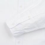 Мужская рубашка Edwin Standard Poplin White Crispy Wash фото- 3