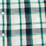 Мужская рубашка Edwin Standard SS Poplin Check Green фото- 2