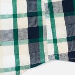 Мужская рубашка Edwin Standard SS Poplin Check Green фото- 4