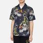 Мужская рубашка Evisu Evergreen Tiger Landscape Printed Denim Multicolor фото - 2