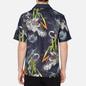 Мужская рубашка Evisu Evergreen Tiger Landscape Printed Denim Multicolor фото - 3